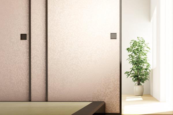 fusuma room reform bright color sample314