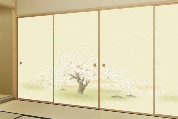 fusuma room reform bright color sample653